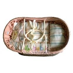 Плетённая корзина-люлька(переноска)LE 15