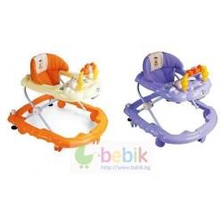 Детские музыкальные ходунки с дугой