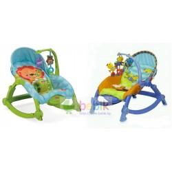 Детское музыкальное портативное кресло-качалка (Fisher Price)