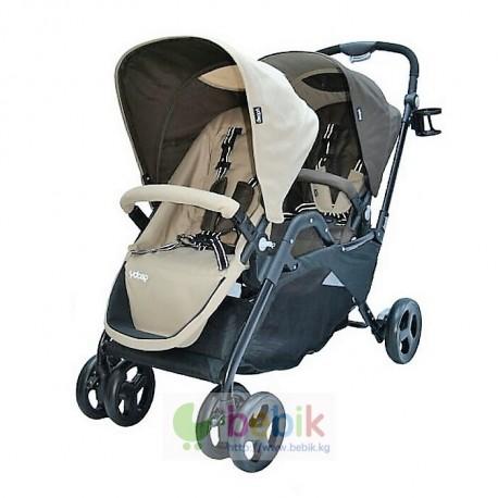 Детская коляска для двойни или погодок Geobi