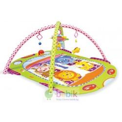 Детский развивающий коврик «Овальный с двумя дугами»
