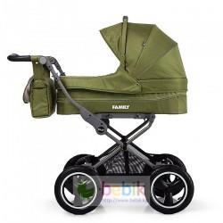 Детская модульная коляска-трансформер Baby Tilly Family 2 в 1 (зима-лето)