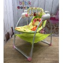 Детские электро-качели-шезлонг (Baby Cradle)