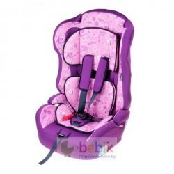 Автокресло-бустер 330, группа 1-2-3, цвет фиолетовый